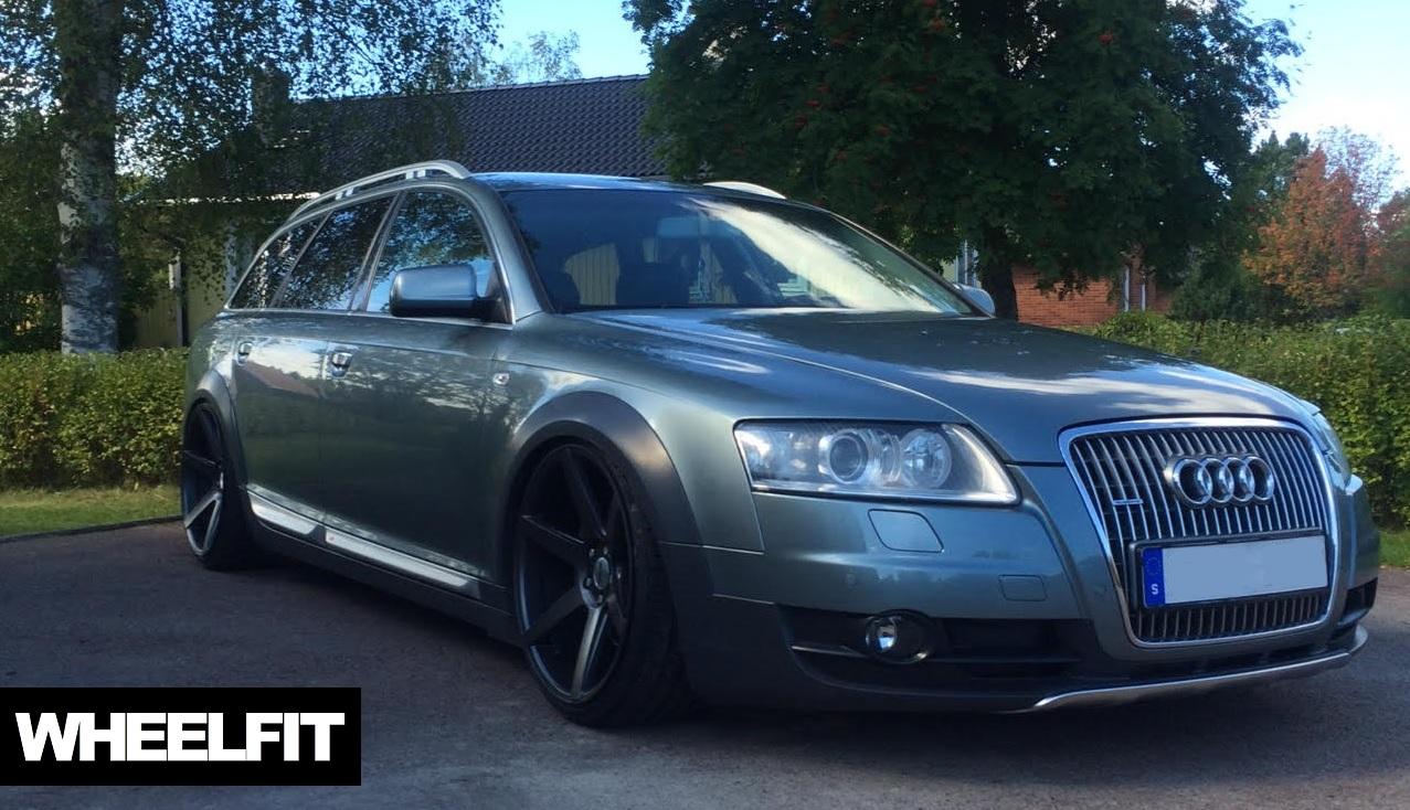 20 Quot Oems Ifg3 Satin Gunmetal Audi A6 Allroad Wheelfit